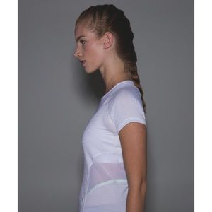 Lululemon Mesh With Me Short Sleeve